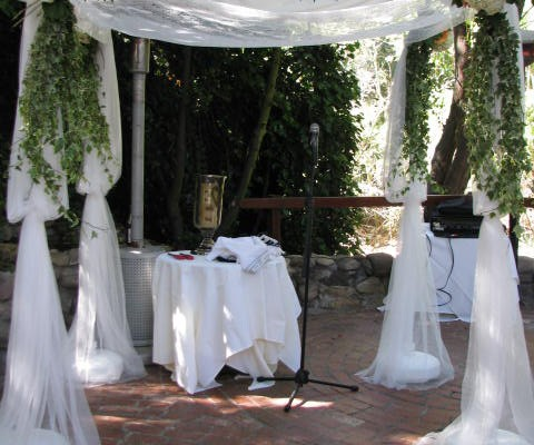 Inn of the Seventh Ray chuppah