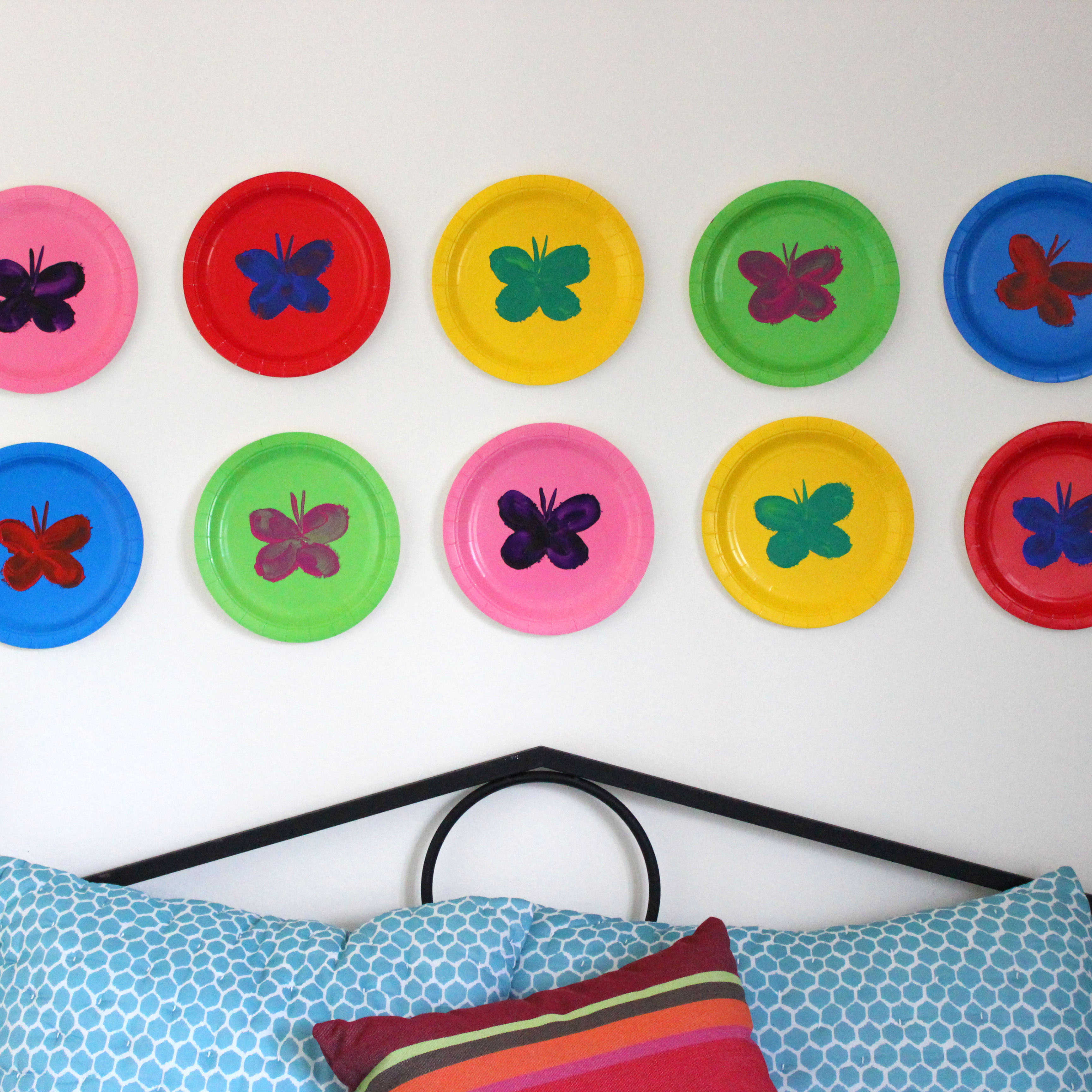 paper plate art  sc 1 st  Jonathan Fong Style & Kidsu0027 Room Decorating Ideas for Disney u2013 Jonathan Fong Style