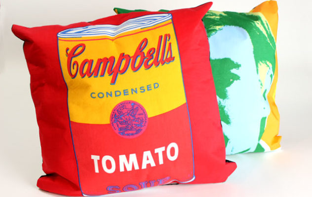 warhol pillows