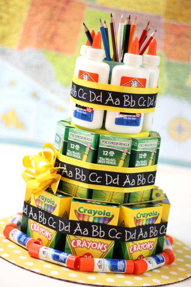 Instructions For Teacher Supply Cake