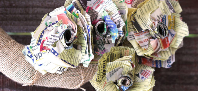 Phone book paper flowers jonathan fong style phone book paper flowers mightylinksfo