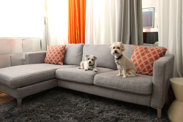 My Adventures with the IKEA Karlstad Sofa – Jonathan Fong Style