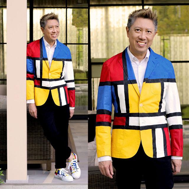 – Fong Uniqlo Another Jacket Blazer Style Jonathan Mondrian Makeover LjVSUzMpGq